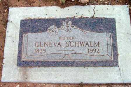 SCHWALM, GENEVA - Yavapai County, Arizona | GENEVA SCHWALM - Arizona Gravestone Photos