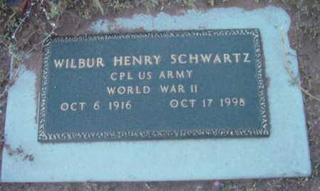 SCHWARTZ, WILBUR HENRY - Yavapai County, Arizona | WILBUR HENRY SCHWARTZ - Arizona Gravestone Photos