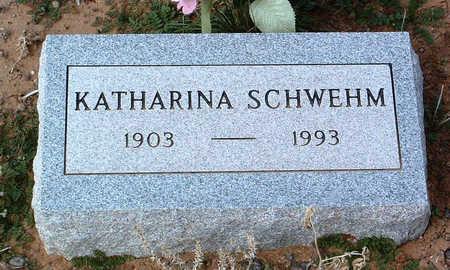 SCHWEHM, KATHARINA - Yavapai County, Arizona | KATHARINA SCHWEHM - Arizona Gravestone Photos