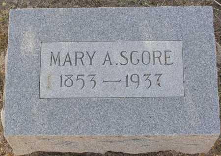 FORSTER SCORE, MARY A. - Yavapai County, Arizona | MARY A. FORSTER SCORE - Arizona Gravestone Photos