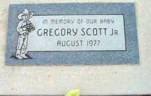 SCOTT, GREGORY JR. - Yavapai County, Arizona | GREGORY JR. SCOTT - Arizona Gravestone Photos