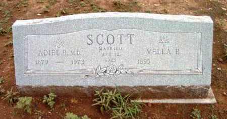SCOTT, ADIEL ROSCOE - Yavapai County, Arizona   ADIEL ROSCOE SCOTT - Arizona Gravestone Photos
