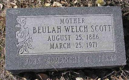 SCOTT, BEULAH - Yavapai County, Arizona | BEULAH SCOTT - Arizona Gravestone Photos