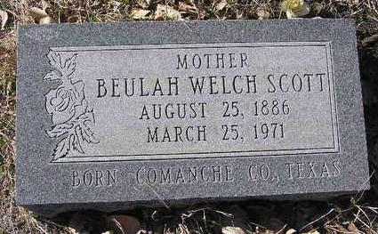 SCOTT, BEULAH - Yavapai County, Arizona | BEULAH SCOTT - Arizona Gravestone Photos