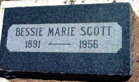 SCOTT, BESSIE MARIE - Yavapai County, Arizona | BESSIE MARIE SCOTT - Arizona Gravestone Photos