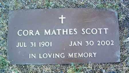 SCOTT, CORA AUGUSTA - Yavapai County, Arizona | CORA AUGUSTA SCOTT - Arizona Gravestone Photos