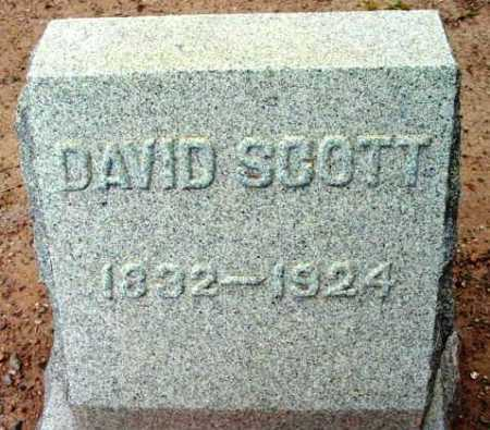 SCOTT, DAVID CROCKETT - Yavapai County, Arizona | DAVID CROCKETT SCOTT - Arizona Gravestone Photos