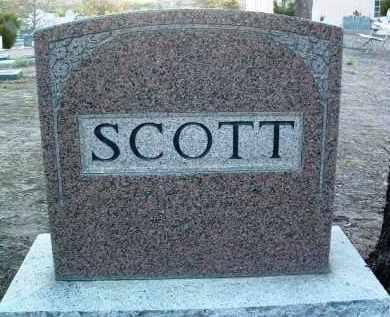 SCOTT, FAMILY HEADSTONE - Yavapai County, Arizona | FAMILY HEADSTONE SCOTT - Arizona Gravestone Photos