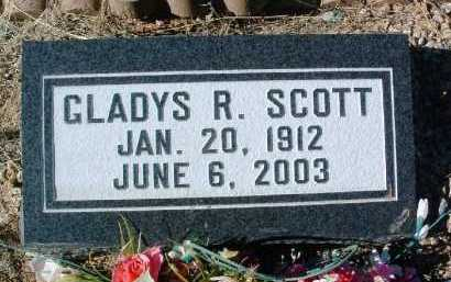 SCOTT, GLADYS REBECCA - Yavapai County, Arizona | GLADYS REBECCA SCOTT - Arizona Gravestone Photos