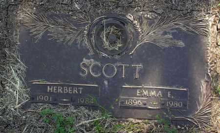 SCOTT, HERBERT - Yavapai County, Arizona | HERBERT SCOTT - Arizona Gravestone Photos