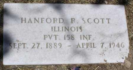 SCOTT, HANFORD R. - Yavapai County, Arizona | HANFORD R. SCOTT - Arizona Gravestone Photos