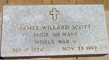 SCOTT, JAMES WILLARD - Yavapai County, Arizona   JAMES WILLARD SCOTT - Arizona Gravestone Photos