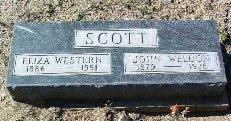 SCOTT, JOHN WELDON - Yavapai County, Arizona | JOHN WELDON SCOTT - Arizona Gravestone Photos