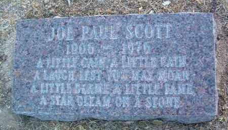 SCOTT, JOE PAUL - Yavapai County, Arizona | JOE PAUL SCOTT - Arizona Gravestone Photos