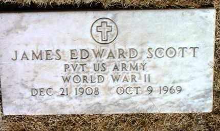 SCOTT, JAMES EDWARD - Yavapai County, Arizona | JAMES EDWARD SCOTT - Arizona Gravestone Photos
