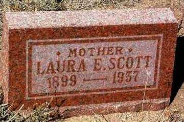 SCOTT, LAURA E. - Yavapai County, Arizona | LAURA E. SCOTT - Arizona Gravestone Photos
