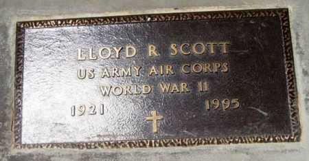 SCOTT, LLOYD R. - Yavapai County, Arizona | LLOYD R. SCOTT - Arizona Gravestone Photos
