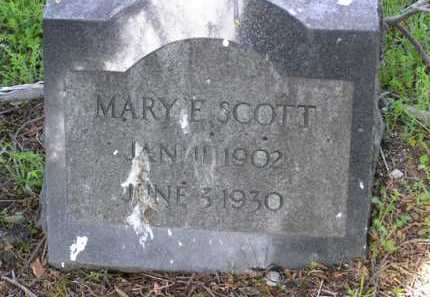 SCOTT, MARY E. - Yavapai County, Arizona | MARY E. SCOTT - Arizona Gravestone Photos