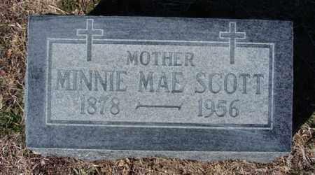 SCOTT, MINNIE MAE - Yavapai County, Arizona | MINNIE MAE SCOTT - Arizona Gravestone Photos
