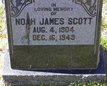 SCOTT, NOAH JAMES - Yavapai County, Arizona   NOAH JAMES SCOTT - Arizona Gravestone Photos