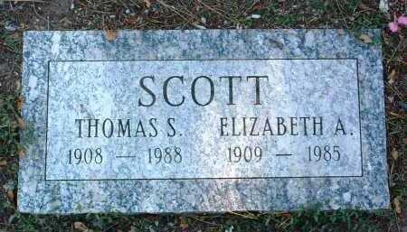 SCOTT, THOMAS S. - Yavapai County, Arizona   THOMAS S. SCOTT - Arizona Gravestone Photos