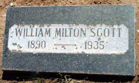 SCOTT, WILLIAM MILTON - Yavapai County, Arizona | WILLIAM MILTON SCOTT - Arizona Gravestone Photos