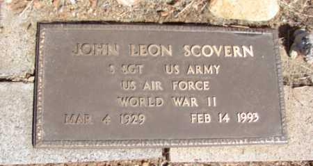 SCOVERN, JOHN LEON - Yavapai County, Arizona | JOHN LEON SCOVERN - Arizona Gravestone Photos