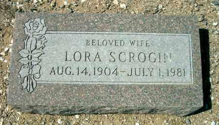 SCROGIN, LORA - Yavapai County, Arizona | LORA SCROGIN - Arizona Gravestone Photos
