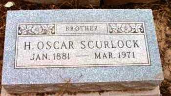 SCURLOCK, HENRY OSCAR - Yavapai County, Arizona | HENRY OSCAR SCURLOCK - Arizona Gravestone Photos