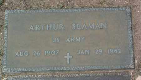 SEAMAN, ARTHUR - Yavapai County, Arizona | ARTHUR SEAMAN - Arizona Gravestone Photos