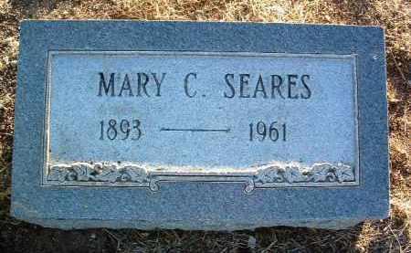 SEARES, MARY C. - Yavapai County, Arizona | MARY C. SEARES - Arizona Gravestone Photos