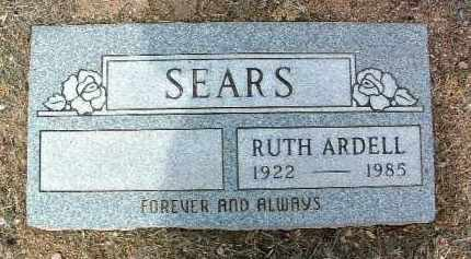 SEARS, RUTH ARDELL - Yavapai County, Arizona | RUTH ARDELL SEARS - Arizona Gravestone Photos