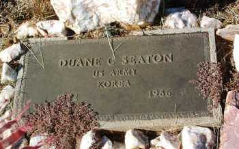 SEATON, DUANE C. - Yavapai County, Arizona | DUANE C. SEATON - Arizona Gravestone Photos