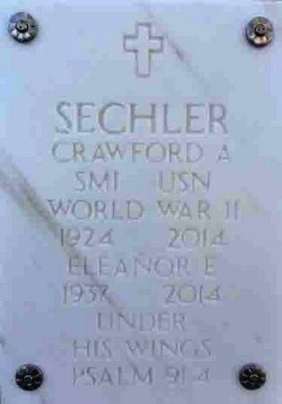 SECHLER, CRAWFORD A. - Yavapai County, Arizona | CRAWFORD A. SECHLER - Arizona Gravestone Photos