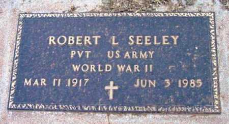 SEELEY, ROBERT L. - Yavapai County, Arizona | ROBERT L. SEELEY - Arizona Gravestone Photos