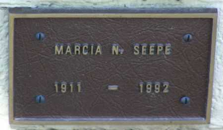 SEEPE, MARCIA N. - Yavapai County, Arizona   MARCIA N. SEEPE - Arizona Gravestone Photos