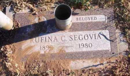 SEGOVIA, RUFINA C. - Yavapai County, Arizona   RUFINA C. SEGOVIA - Arizona Gravestone Photos