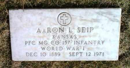 SEIP, AARON LEWIS - Yavapai County, Arizona | AARON LEWIS SEIP - Arizona Gravestone Photos
