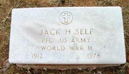 SELF, JACK H. - Yavapai County, Arizona | JACK H. SELF - Arizona Gravestone Photos