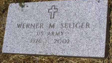 SELIGER, WERNER M. - Yavapai County, Arizona | WERNER M. SELIGER - Arizona Gravestone Photos