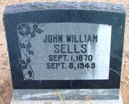 SELLS, JOHN WILLIAM - Yavapai County, Arizona | JOHN WILLIAM SELLS - Arizona Gravestone Photos