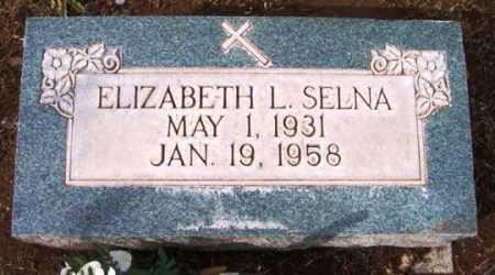 SELNA, ELIZABETH L. - Yavapai County, Arizona | ELIZABETH L. SELNA - Arizona Gravestone Photos