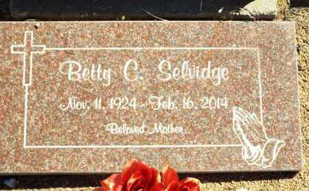 MCALLISTER SELVIDGE, BETTY - Yavapai County, Arizona | BETTY MCALLISTER SELVIDGE - Arizona Gravestone Photos