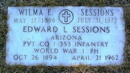 SESSIONS, WILMA EDITH - Yavapai County, Arizona | WILMA EDITH SESSIONS - Arizona Gravestone Photos