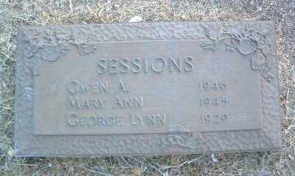 SESSIONS, MARY ANN - Yavapai County, Arizona | MARY ANN SESSIONS - Arizona Gravestone Photos