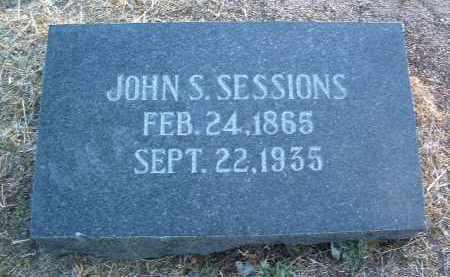 SESSIONS, JOHN SHERMAN - Yavapai County, Arizona | JOHN SHERMAN SESSIONS - Arizona Gravestone Photos