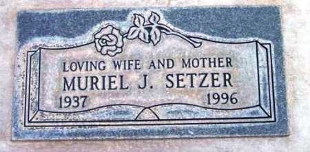 SETZER, MURIEL - Yavapai County, Arizona   MURIEL SETZER - Arizona Gravestone Photos