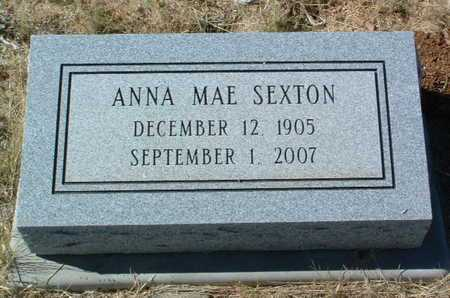 SEXTON, ANNA MAE - Yavapai County, Arizona | ANNA MAE SEXTON - Arizona Gravestone Photos