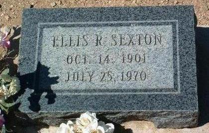 SEXTON, ELLIS REGINALD - Yavapai County, Arizona | ELLIS REGINALD SEXTON - Arizona Gravestone Photos