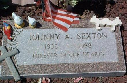 SEXTON, JOHNNY A. - Yavapai County, Arizona | JOHNNY A. SEXTON - Arizona Gravestone Photos